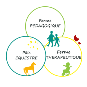 3 sources - Ferme pedagogique - Ferme Therapeutique - centre équestre - écuries - sancoins - Nevers