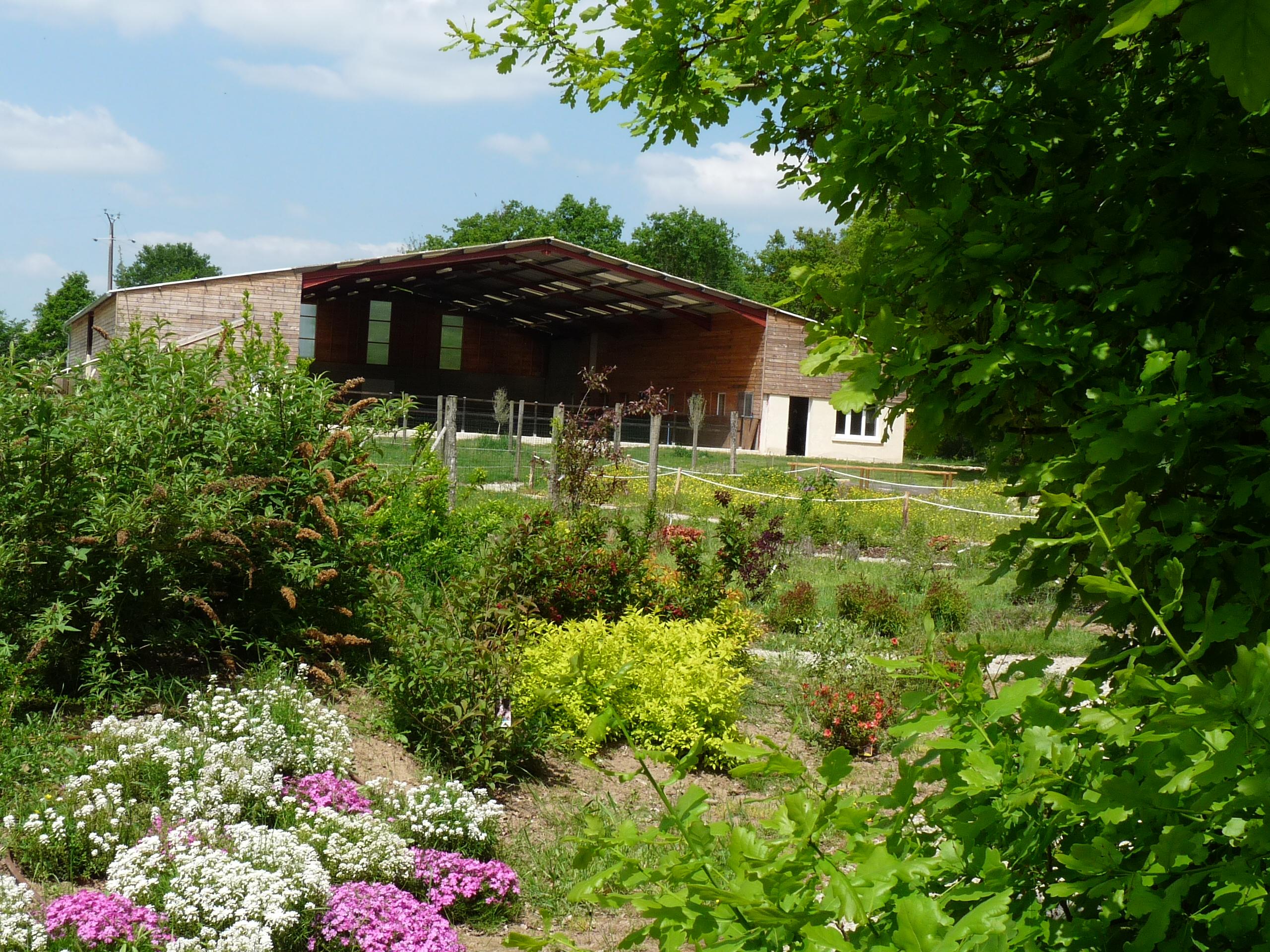 Jardin des sens - Ferme des 3 Sources - Jardin visiter